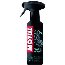 MOTUL E1 WASH&WAX Bezwodny środek czyszcząco-ochronny 400 ml