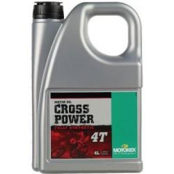 Olej silnikowy syntetyczny MOTOREX CROSS POWER 4T 10W60 4l