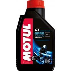 Olej silnikowy mineralny MOTUL 3000 4T 10W40 1L