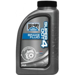 BEL RAY SUPER DOT 4 BRAKE FLUID płyn hamulcowy 355 ml