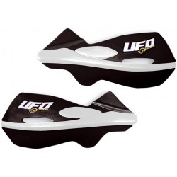 Handbary, osłony dłoni, listki UFO PLAST PATROL CZARNE KTM HONDA YAMAHA KAWASAKI SUZUKI