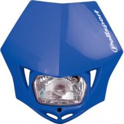 Reflektor przedni lampa owiewka Polisport MMX Headlight NIEBIESKA