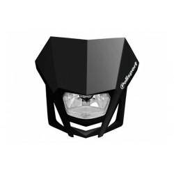 Uniwersalny reflektor przedni lampa owiewka Polisport LMX CZARNY