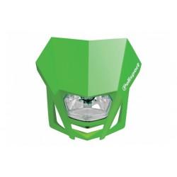 Uniwersalny reflektor przedni lampa owiewka Polisport LMX ZIELONY