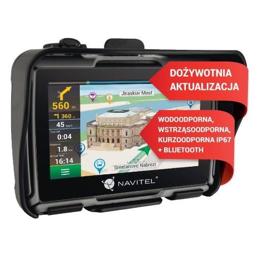 Nawigacja Motocyklowa GPS Navitel G550 Europa Polska