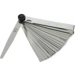 Szczelinomierz 13 listków 0,05 - 1,00 mm