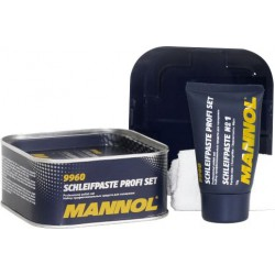 Pasty do czyszczenia polerowania lakieru zestaw MANNOL SCHLEIFPASTE PROFI 9960