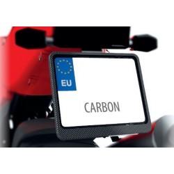 Ramka tablicy rejestracyjnej motocyklowa CARBON