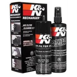 Zestaw do czyszczenia filtrów powietrza K&N płyn+olej
