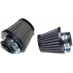 Filtr powietrza stożkowy carbon carbonowy uniwersalny 38 mm