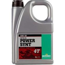 Olej silnikowy syntetyczny MOTOREX POWER SYNT 4T 10W50 4 LITRY