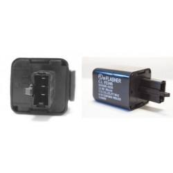 Przerywacz, przekaźnik kierunkowskazów led i żarówkowych 1-100W 3 piny wtyczka CLF013