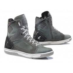 Krótkie skórzane męskie buty szosowe FORMA HYPER GREY