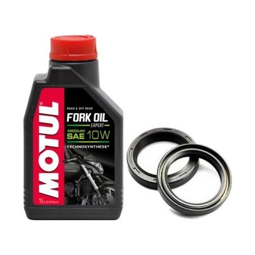 Zestaw olej do lag MOTUL 10W uszczelniacze ATHENA SUZUKI GSF 600 BANDIT  95-98r  - Motoluka