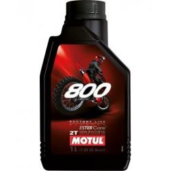 Olej silnikowy syntetyczny do mieszanki MOTUL OFF ROAD RACING FACTORY LINE 2T 800 1L