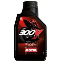 Olej silnikowy MOTUL 300V Factory Line Road Racing 15W50 1l