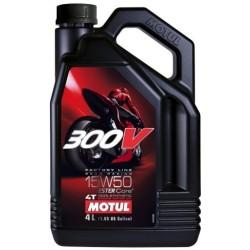 Olej silnikowy MOTUL 300V Factory Line Road Racing 15W50 4l