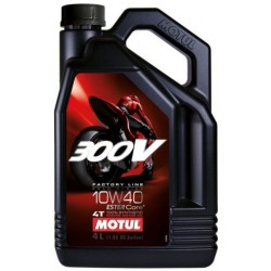 Olej silnikowy MOTUL 300V Factory Line Road Racing 10W40 4l