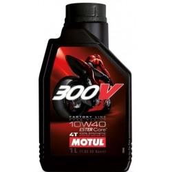 Olej silnikowy MOTUL 300V Factory Line Road Racing 10W40 1l