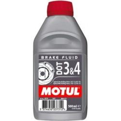 Płyn hamulcowy syntetyczny MOTUL dot 3&4 0,5L