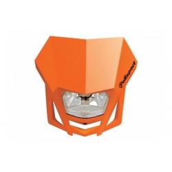Uniwersalny reflektor przedni lampa owiewka Polisport LMX POMARAŃCZOWY