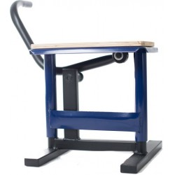 Podnośnik motocyklowy stojak stołek winda CROSS ENDURO OFF ROAD NIEBIESKI