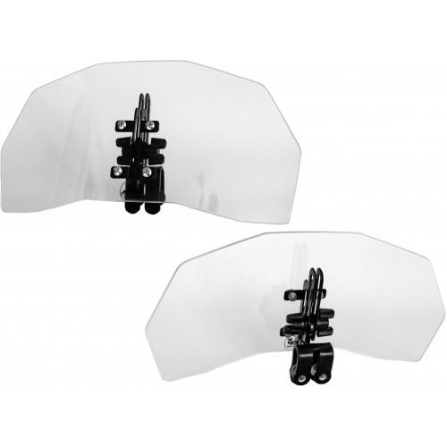 Deflektor motocyklowy szyba owiewka z regulacją kąta i wysokości EWOLUTION DARKOJAK