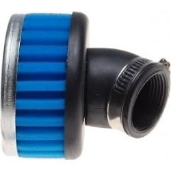 Filtr powietrza gąbkowy owalny uniwersalny płaski 32mm 45 st