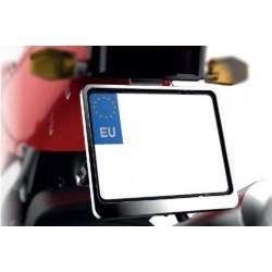 Ramka tablicy rejestracyjnej motocyklowa CHROM