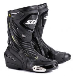 Sportowe buty motocyklowe męskie SECA HYPER BLACK