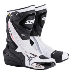 Sportowe buty motocyklowe męskie SECA HYPER WHITE