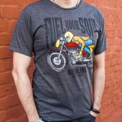 T-shirt męski koszulka męska REDLINE FUEL YOUR SOUL