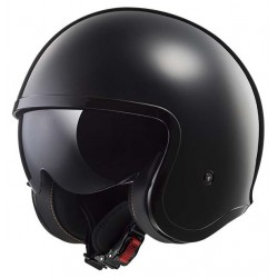 Kask otwarty bobber LS2 OF599 SPITFIRE SOLID BLACK