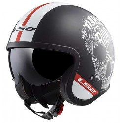 Kask otwarty bobber LS2 OF599 SPITFIRE INKY MATT BLACK