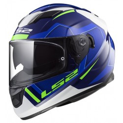 KASK INTEGRALNY LS2 FF320 STREAM EVO AXIS BLUE WHITE