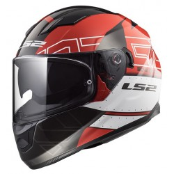 KASK INTEGRALNY LS2 FF320 STREAM EVO KUB RED BLACK