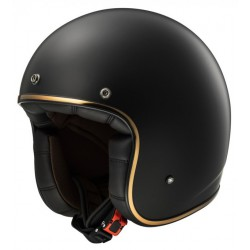 KASK OTWARTY BOBBER RETRO LS2 OF583 MATT BLACK