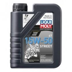 Liqui Moly 15W50 Street 4T Olej silnikowy półsyntetyczny 1l