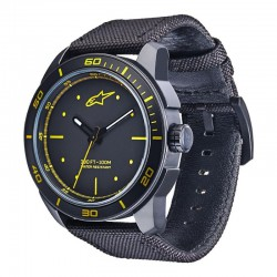 ZEGAREK ALPINESTARS TECH WATCH 3H YELLOW 1017-96045