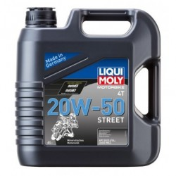 Liqui Moly 20W50 Street 4T Olej silnikowy mineralny 4l