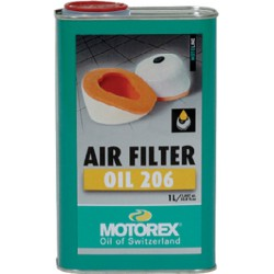 Olej do gąbkowych filtrów powietrza MOTOREX AIR FILTER OIL 206 1 l
