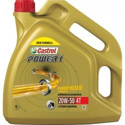 Olej silnikowy mineralny CASTROL POWER 1 4T 20W50 4L