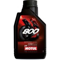 Olej silnikowy syntetyczny do mieszanki MOTUL FACTORY LINE ROAD RACING 2T 800 1L