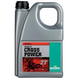 Olej silnikowy syntetyczny MOTOREX CROSS POWER 2T 4l