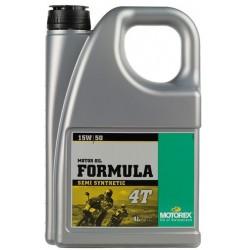 Olej silnikowy półsyntetyczny MOTOREX FORMULA 4T 15W50 4l