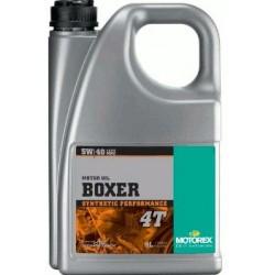 Olej silnikowy syntetyczny MOTOREX BOXER 5W40 4T BMW 4 l