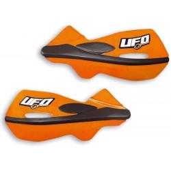 Handbary, osłony dłoni, listki UFO PLAST PATROL POMARAŃCZOWE KTM EXC EXCF SX SXF LC2 LC4