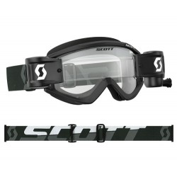 GOGLE SCOTT RECOIL Xi WFS ROLL-OFF BLACK WHITE