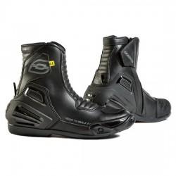 OZONE URBAN II BLACK krótkie sportowe męskie buty motocyklowe