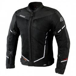 OZONE JET II BLACK letnia męska kurtka motocyklowa